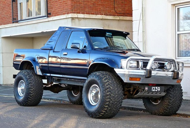 toyota hilux 4x4 pickup truck flickr photo sharing. Black Bedroom Furniture Sets. Home Design Ideas