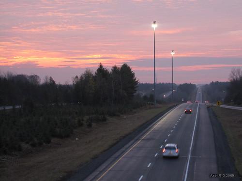 canada sunrise highway québec autoroute 55 qc stétiennedesgrès