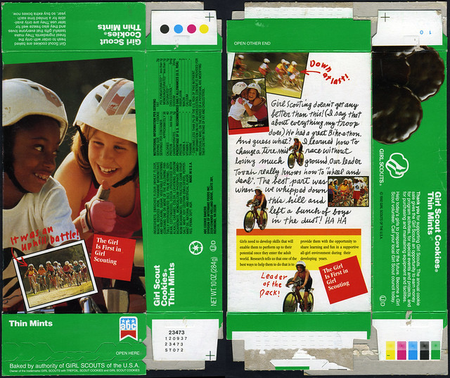 Girl Scout Cookies - Thin Mints Box - 1992  Flickr -8997
