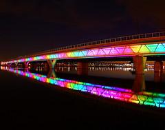 Phoenix Light Rail Rainbow!