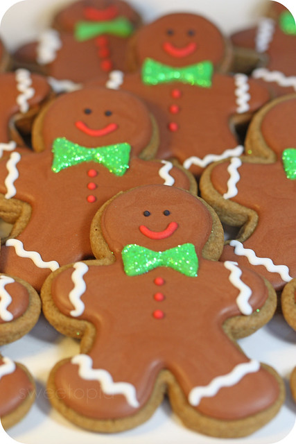 gingerbread men cookies | Flickr - Photo Sharing!