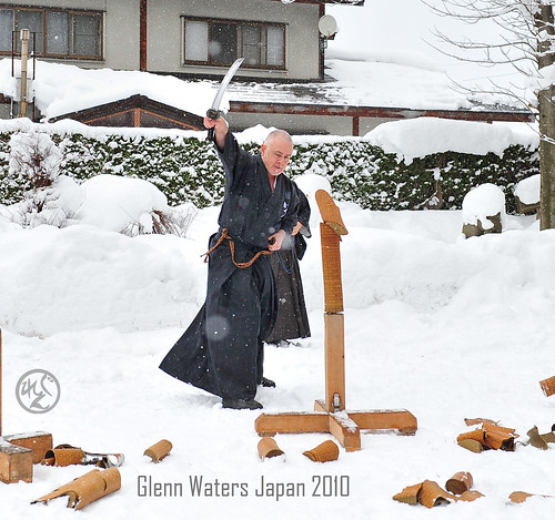 Glenn Waters. Batto with Wakisazhi. Northern Japan Jan 3rd 2010.  1, 200  visits to this photo.  Thank you.