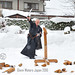 Glenn Waters. Batto with Wakisazhi. (Hirosaki Japan). © Glenn Waters.  Northern Japan Jan 3rd 2010.  Over 2,800  visits to this photo.  Thank you.
