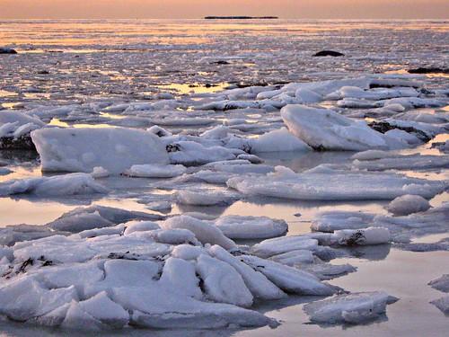 ocean sunset ice water iceland islandia ísland islande ísland