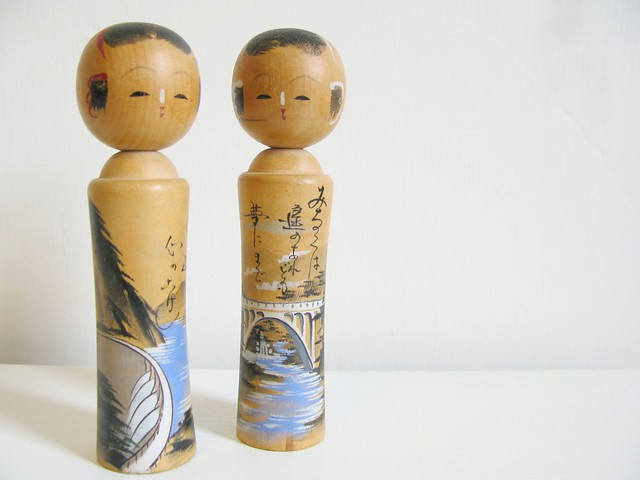 Thrifted Japanese Kokeshi | Emma Lamb