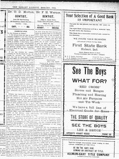 Lee Bruce ad 12-12-1913