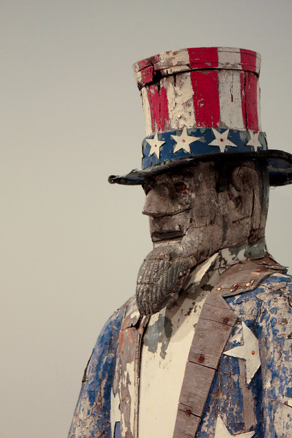 Folk Art - Uncle Sam   Flickr - Photo Sharing!