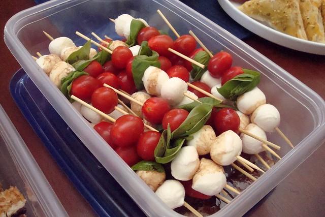 Caprese Salad Skewers | Flickr - Photo Sharing!