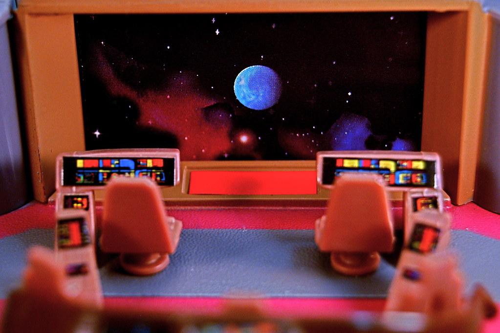 U.S.S. Enterprise-D Main Viewscreen