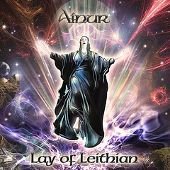 Ainur - Lay of Leithian - CD Cover © by Dino Olivieri