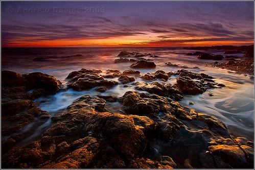 longexposure sunset sea sun beach water wales geotagged coast seaside twilight sand rocks dusk south pebbles explore glamorgan dwr picks bridgend gloaming porthcawl canonefs1022mmf3545usm restbay lowandwide penybontarogwr explroed canoneos40d andrewwilliamdavies geo:lat=51491698 geo:lon=372767 gettyartistpicksoctober09