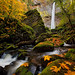 Elowah Falls by Jesse Estes