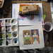 my desk by ambird