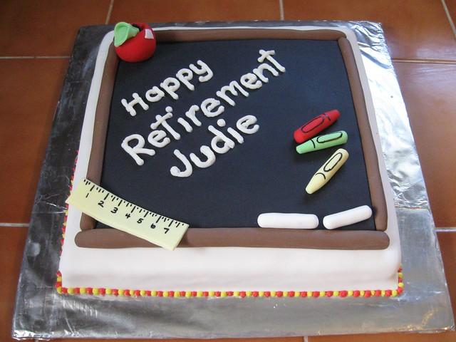 Retirement Cakes For Women Retirement Cakes For T...