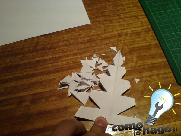 Como hacer un arbol de navidad en origami taringa - Como se adorna un arbol de navidad ...