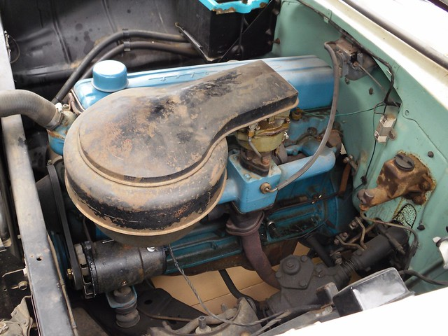 Blue Flame Chevy 235 Engine For Sale Autos Post
