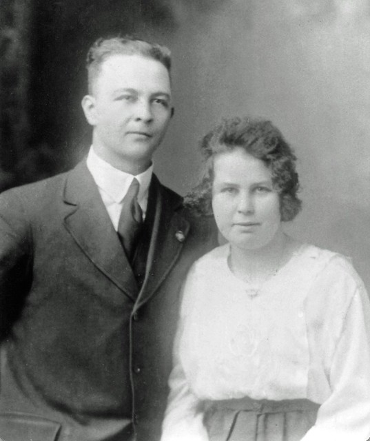John and Cassie Huffman, c1919