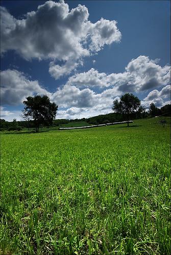 blue green landscape hungary pentax wide ég felhő magyarország cokin tájkép zöld p121 sigma1020 kék nd8 fű pentaxk10d zalamegye kiscsehi