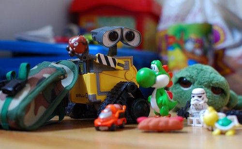 Toys, Toys, Toys by meddygarnet