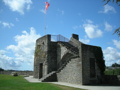 Petite tour en haut des fortifications