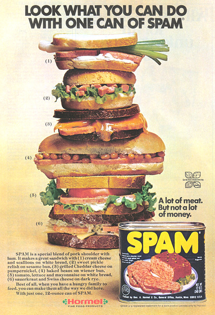 Can Spam Food And Alzheimer S Disease