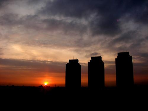 """city méxico backlight sunrise contraluz mexico df ciudad east amanecer oriente urbano este contrejour tlatelolco urbe israfel67 """"flickraward"""""""