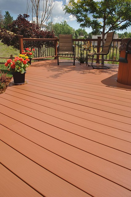 Fiberon Horizon Composite Decking Brick Flickr Photo