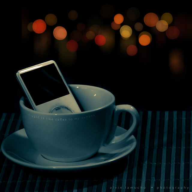 music is like coffee to my senses