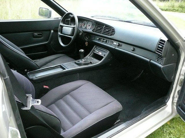 Porsche 944 turbo 951 85 interior flickr photo sharing for Porsche 944 interieur