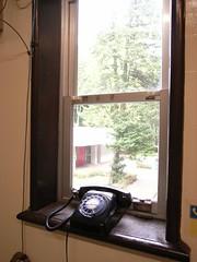 大赤道儀室にあった黒電話
