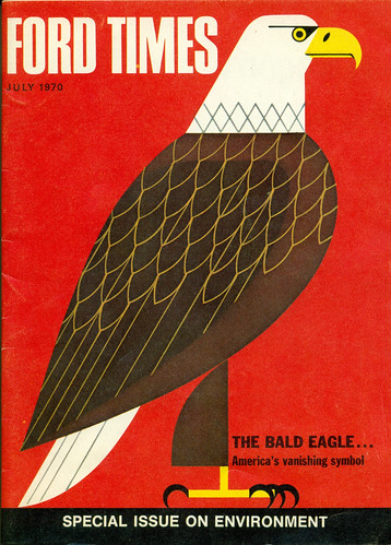 Ford Times, July 1970.  Illustrations by Charley Harper
