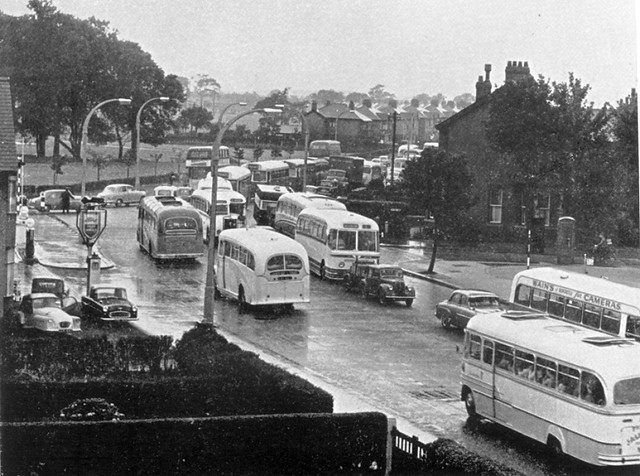 Blackpool Road, Preston 1960.