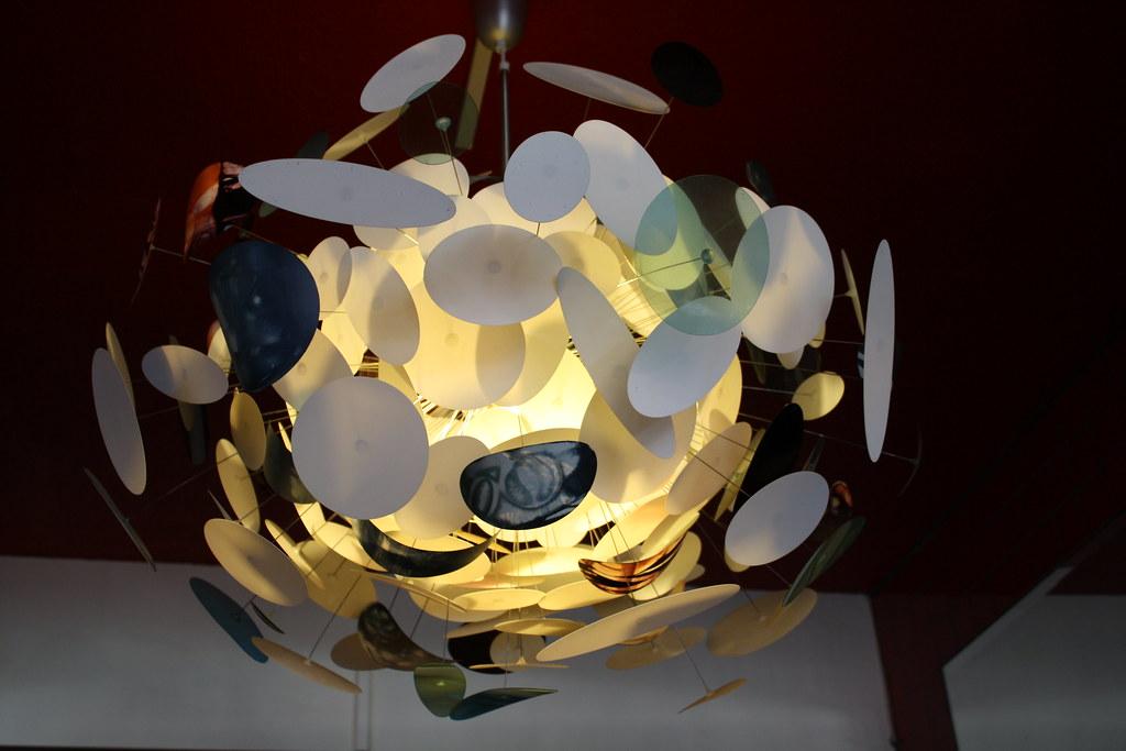 Lamp shade, Errol's cafe