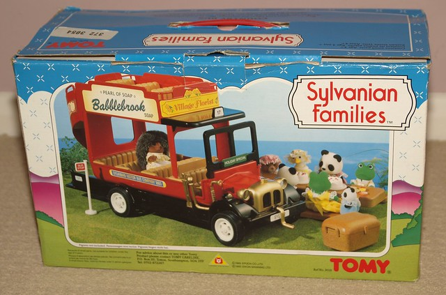 Sylvanian Families Country Bus Box Back Flickr