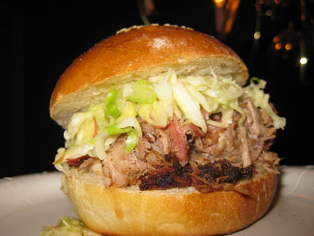 ... carolina pulled pork sandwich at mission bbq carolina pulled pork