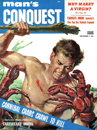 """cannibal crabs crawl to kill"""