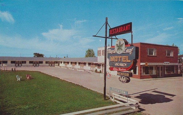 Maple Leaf Motel Restaurant Windsor Ontario Flickr Photo Sharing