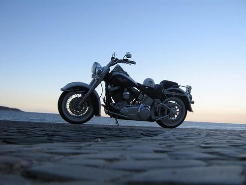 Harley Davidson - Praia de Ipanema