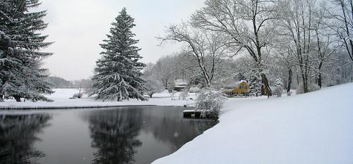 snow newjersey farm nj scene chester
