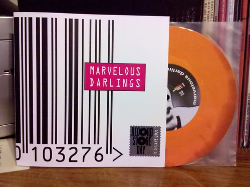 "Record Store Day Haul #13 - Marvelous Darlings - I Hate Rock N Roll 7"" - #3/4"