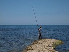 fishing(1.0), sea(1.0), recreation(1.0), casting fishing(1.0), outdoor recreation(1.0), recreational fishing(1.0), surf fishing(1.0), shore(1.0), coast(1.0), angling(1.0),