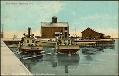 The Harbour, Meaford, Ontario, Canada (ca. 1910)