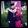 Happy graduation ya adeku.. :) Im proud of you. . :)