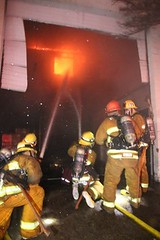 Major Emergency Commercial Fire in Tarzana