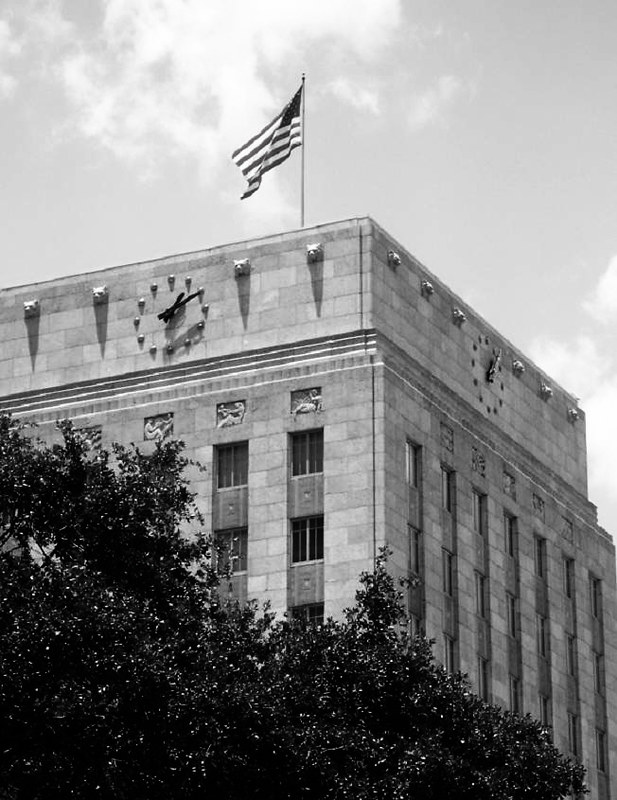 City Hall, Houston, Texas 0711091301BW
