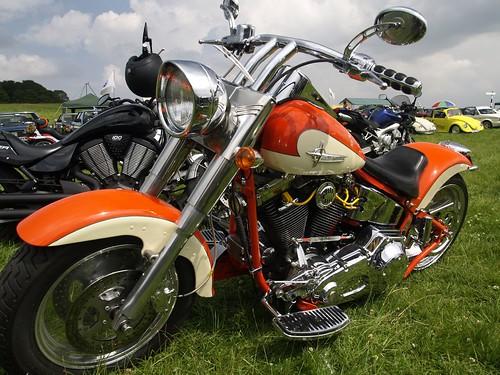 Harley Davidson Fatboy Custom Bike