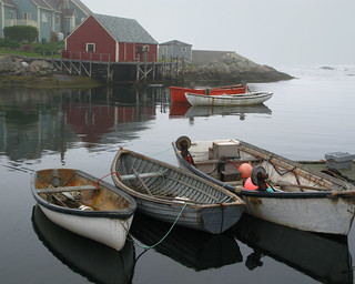 boats - Peggy's Cove, Halifax