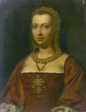 Painting of Anne of Brittany