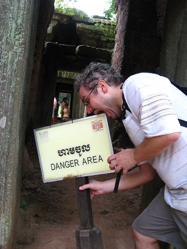 danger area