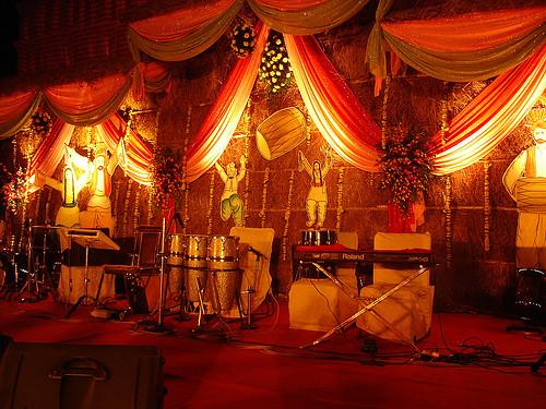 Punjabi theme decor